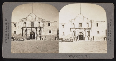 """The Alamo, San Antonio, Tex.,"" (1909). From Stereo-Travel Co. Courtesy of Library of Congress"