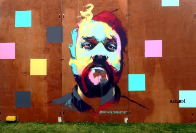"""Scott Hutchison Tribute"" (2018), by Michael Corr. Courtesy of the artist 