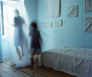 """The Turquoise Room,"" from Home Stills (2008).  © Bastienne Schmidt. Courtesy of the artist and Jackson Fine Art, Atlanta"