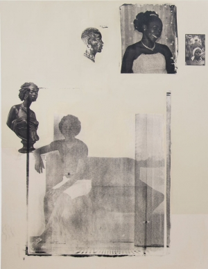 """Democratic Intuition, Comrades: Addendum"" © Meleko Mokgosi. Courtesy of the artist and Jack Shainman Gallery"